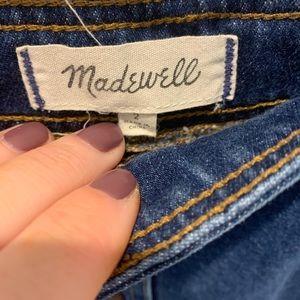 Madewell Skirts - Madewell button front denim skirt